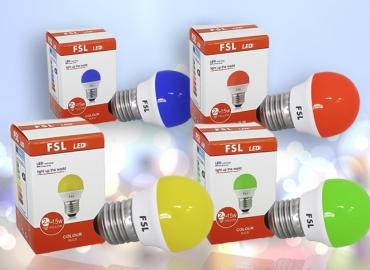 Bóng màu LED FSL 4W