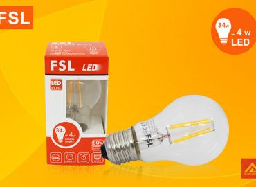 Bóng đèn LED Edison 4W FSL