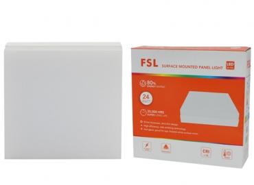 Đèn ốp trần LED FSL 24W đế vuông