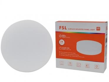 Đèn ốp trần LED FSL 24W đế tròn